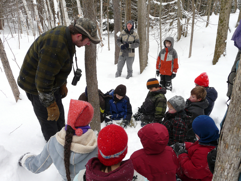 Winter outing with the Kingston Young Field Naturalists