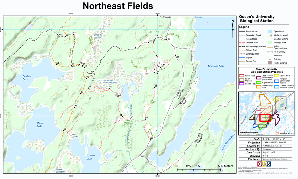 Northeast fields