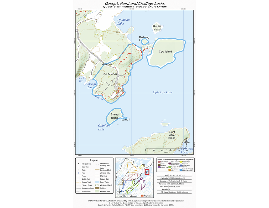 Overview of Queen's Point Properties & Environs