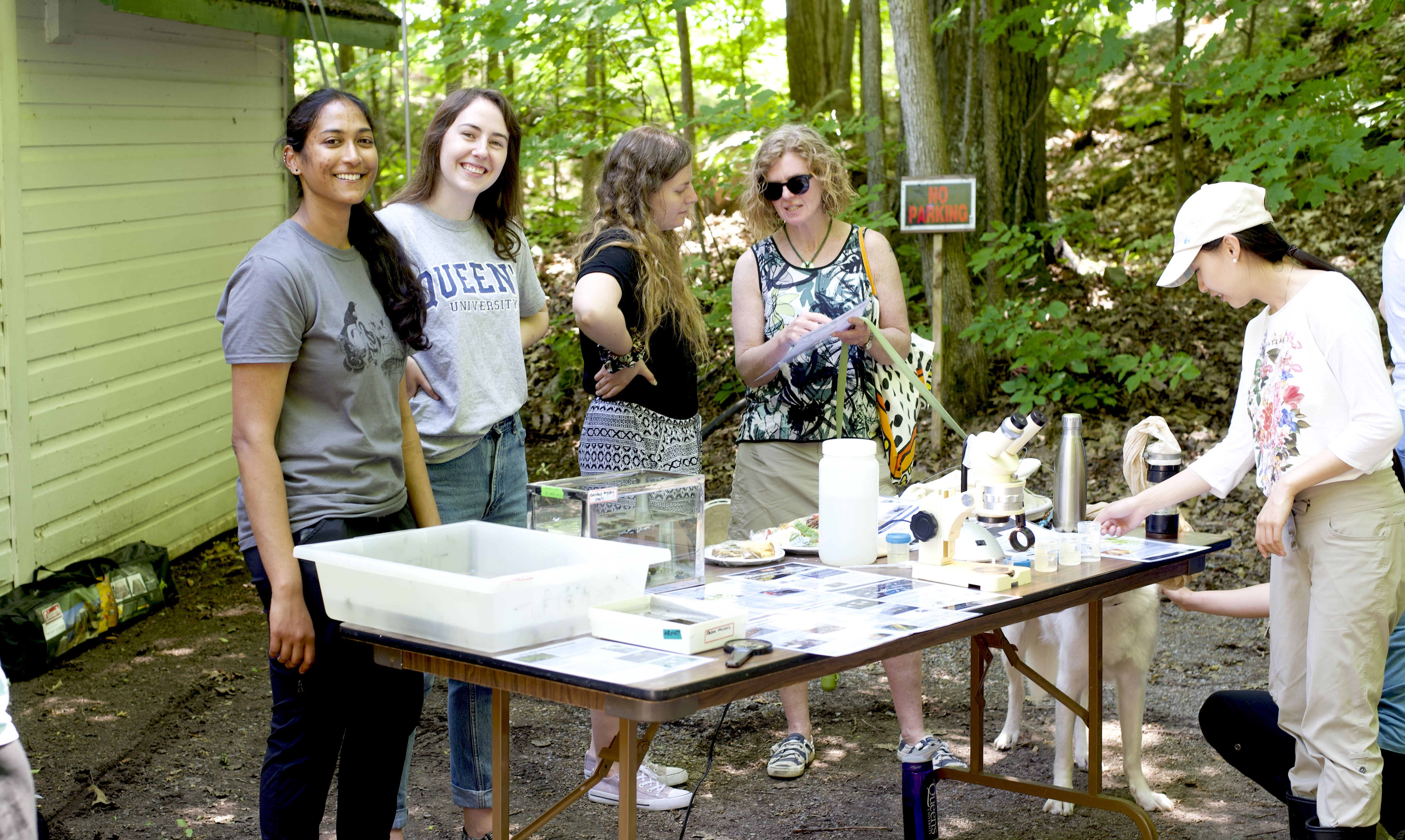 Shelley Arnott Lab Displays Open House 2019