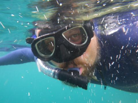 Stephen Lougheed Snorkeling